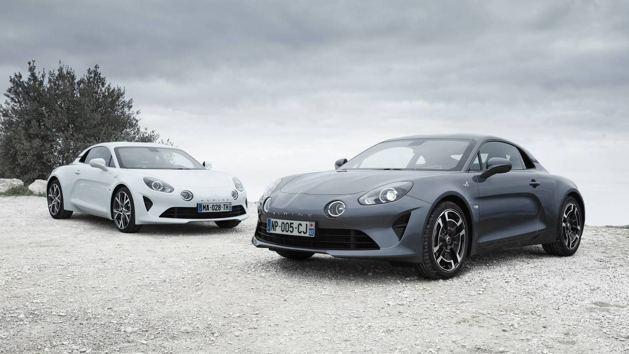 2018 Alpine A110 Pure and Legende