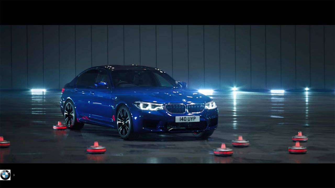 BMW M5 Balance Commercial