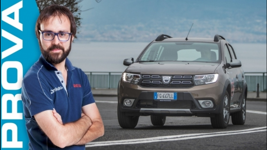 Dacia Sandero Stepway, crossover da città [VIDEO]