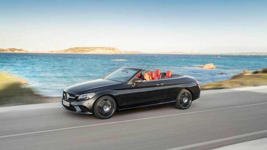Un léger restylage pour la Mercedes Classe C Cabriolet