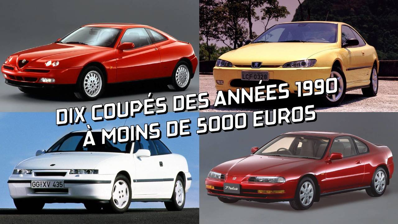 10 coupés à moins de 5000 euros