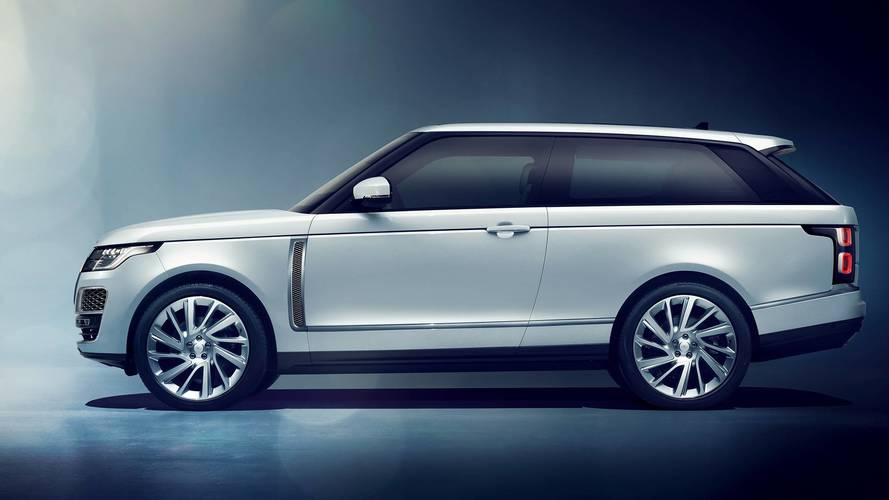 Range Rover SV Coupé 2018: el Land Rover más exclusivo