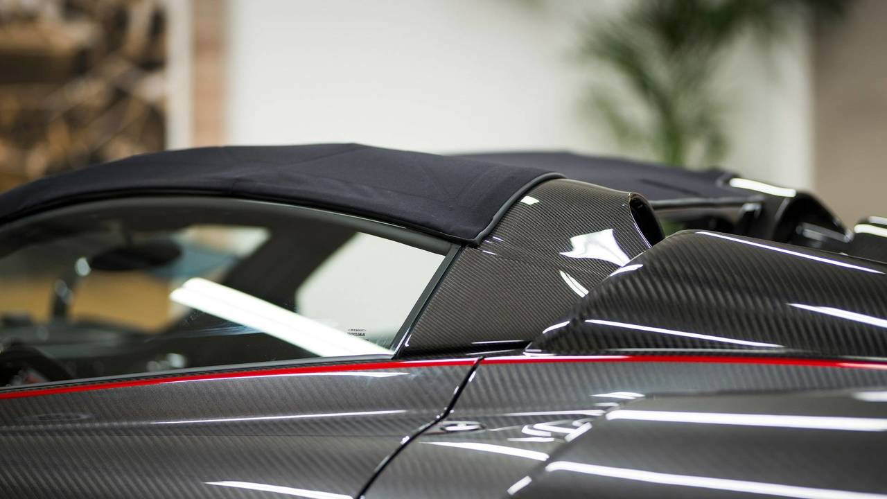 Pagani Huayra Roadster with Pagani Fabric roof