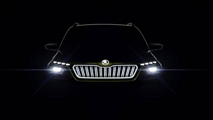 Watch Skoda's Live Debut Of The Vision X In Geneva