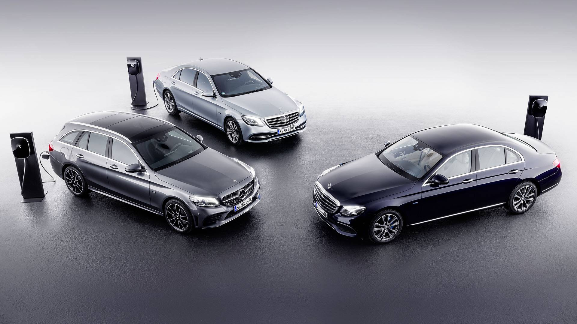 Mercedes C Class E Diesel Plug In Hybrids Coming To Geneva Hybrid Car Engine And Transmission Diagram