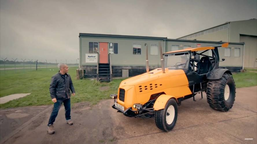 Top Gear'ın 500 beygirlik traktörünün detaylarına bakın