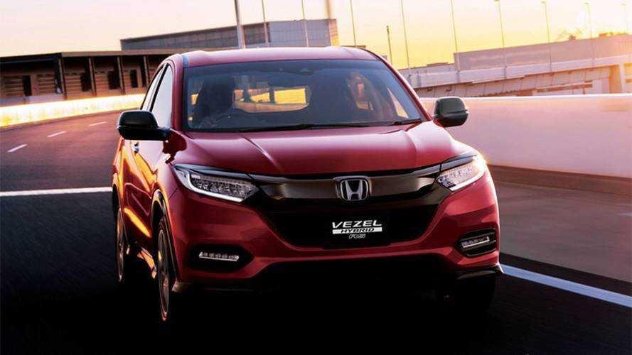 Honda HR-V 2019 aparece com retoques visuais em registro no Brasil
