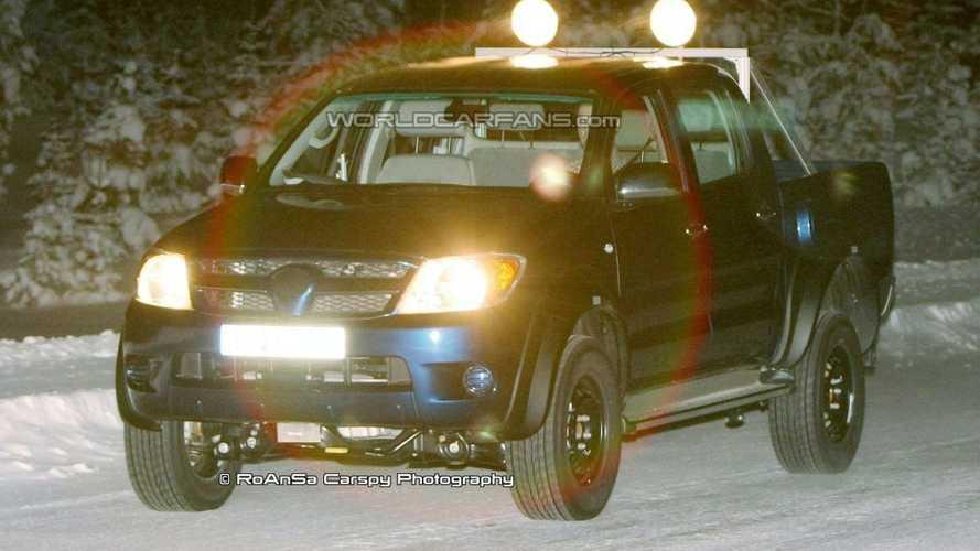 Hilux Disguise Hides New Volkswagen Taro