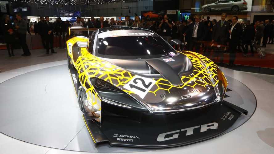 Genève 2018 - McLaren présente la Senna GTR Concept