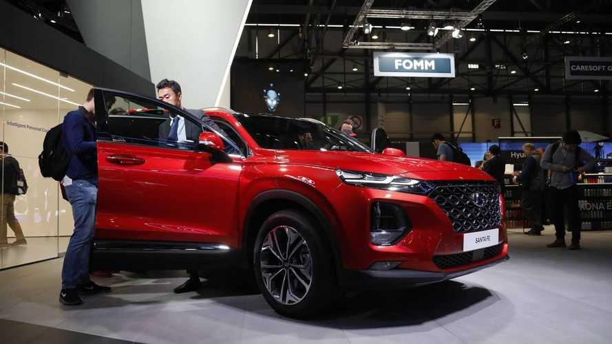 Hyundai Santa Fe 2018: vídeo y fotos desde el salón de Ginebra
