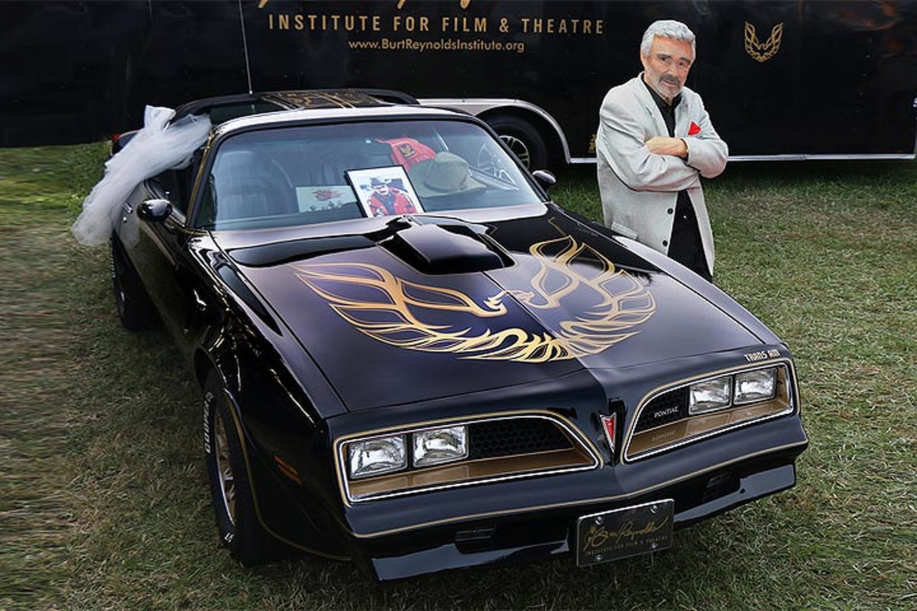 """Smokey and the Bandit"" Pontiac Trans Am Sells For $550,000"