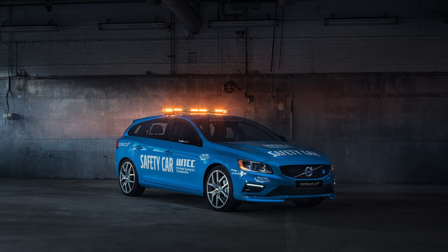 Volvo V60 Polestar becomes WTCC Safety Car