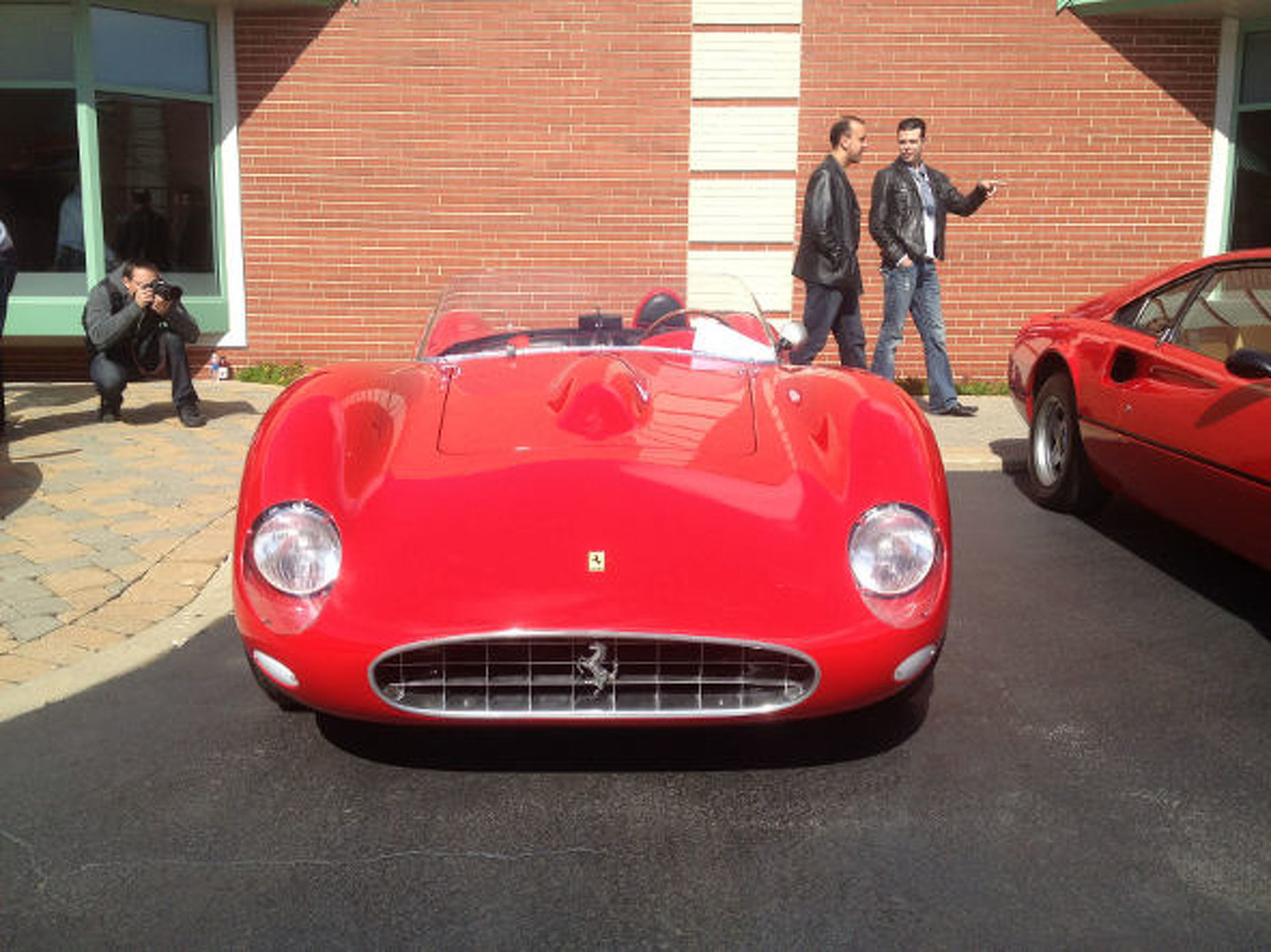 Ferrari 250 Tr Get Learned Up On A Le Mans Winning Red