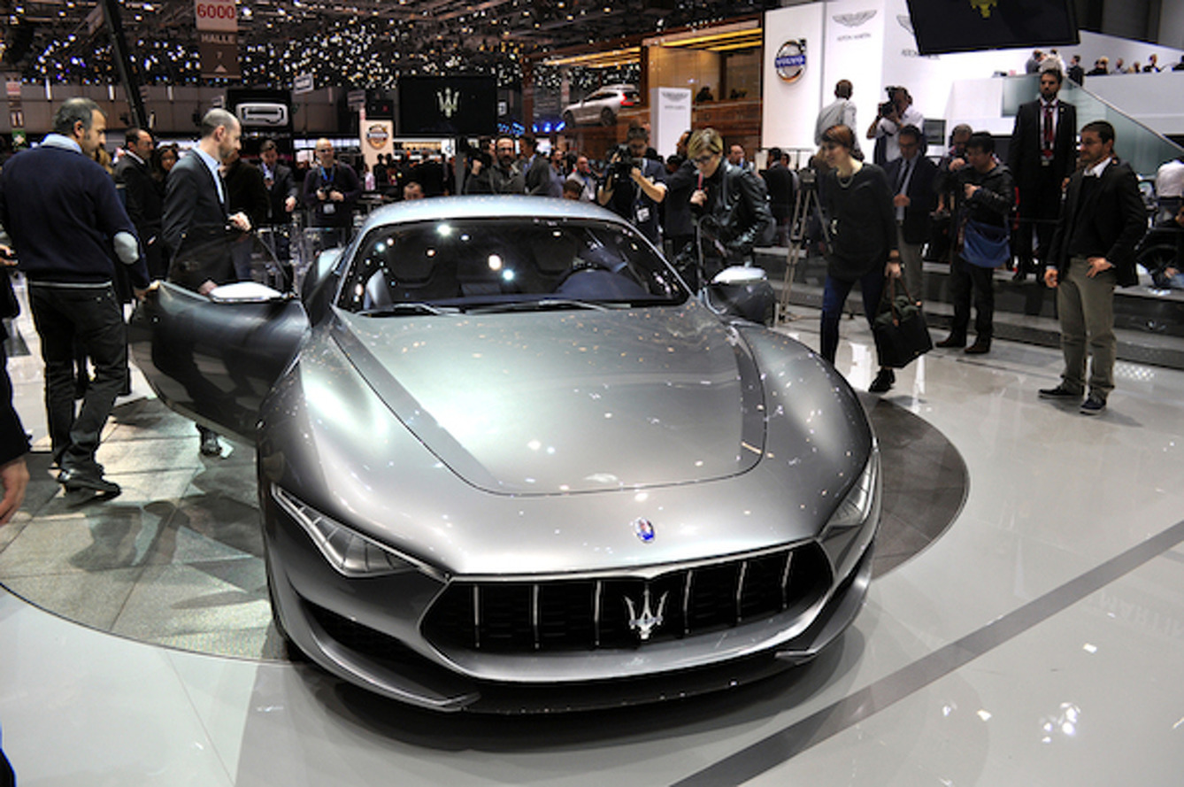 Geneva: Maserati Alfieri Concept Puts Jag and Porsche on Notice [w/ video]