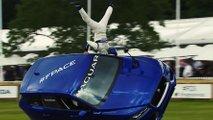 Jaguar F-Pace Stunts