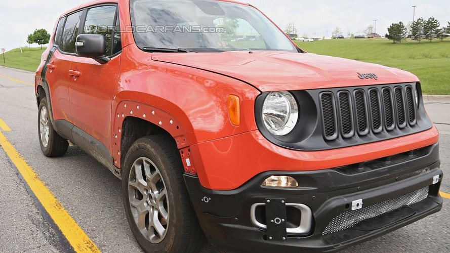 2017 Jeep Patriot & Compass successor spy photo