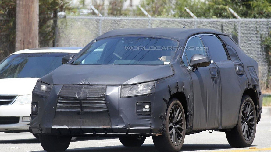 Lexus RX seven-seater could be announced shortly