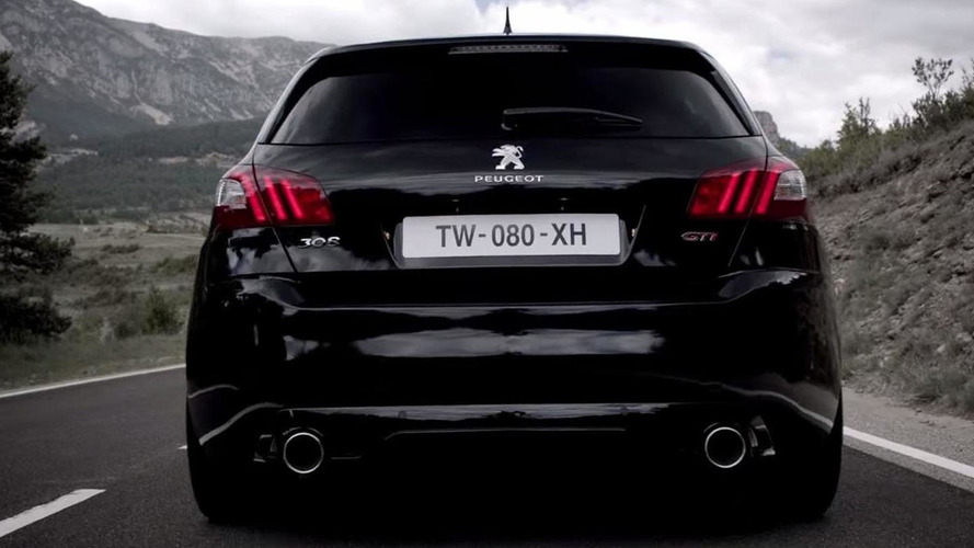 Peugeot 308 GTi 270 plays its raspy engine soundtrack in new promo videos