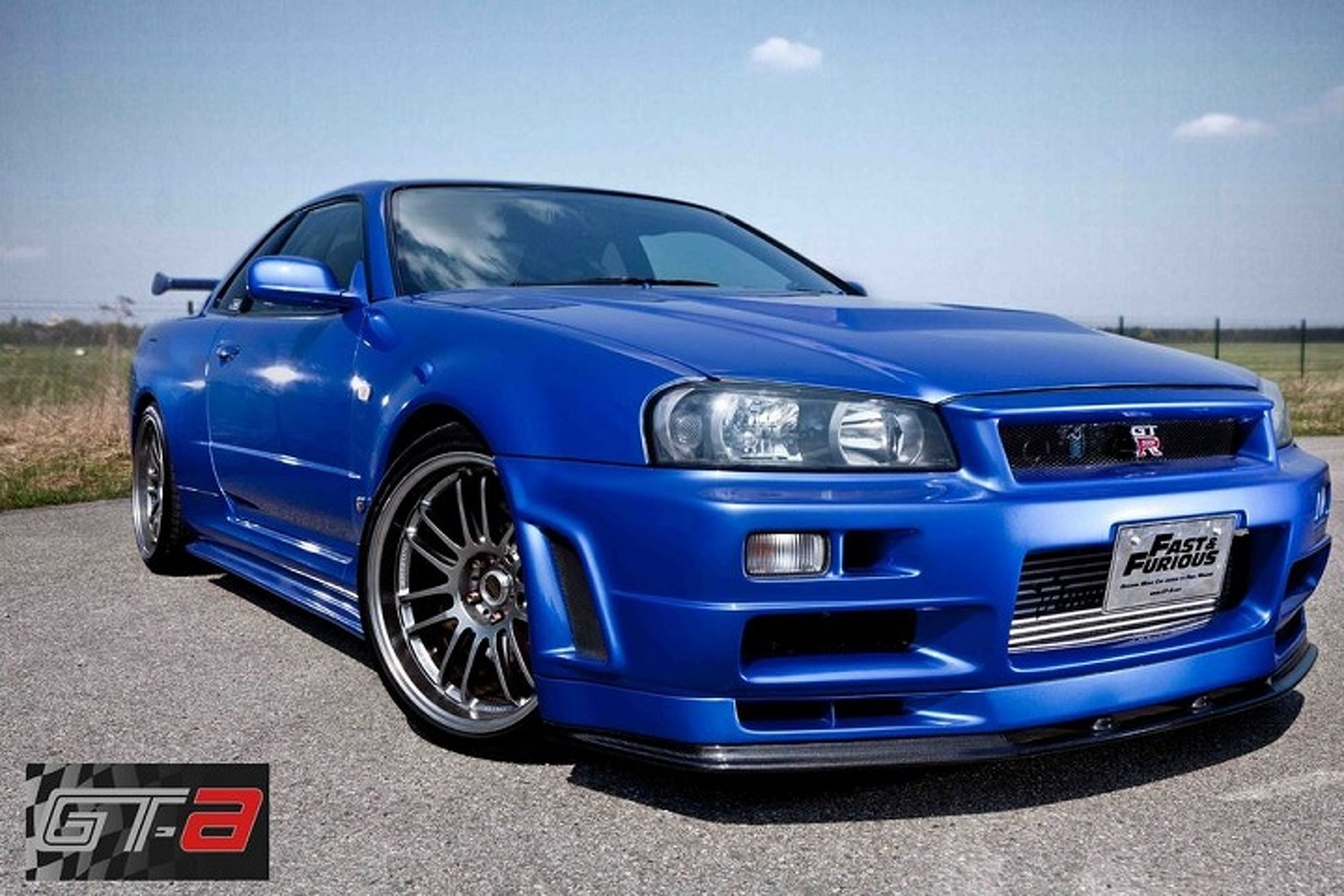 Paul Walker S Fast And Furious 4 Nissan Skyline Gt R Is For Sale
