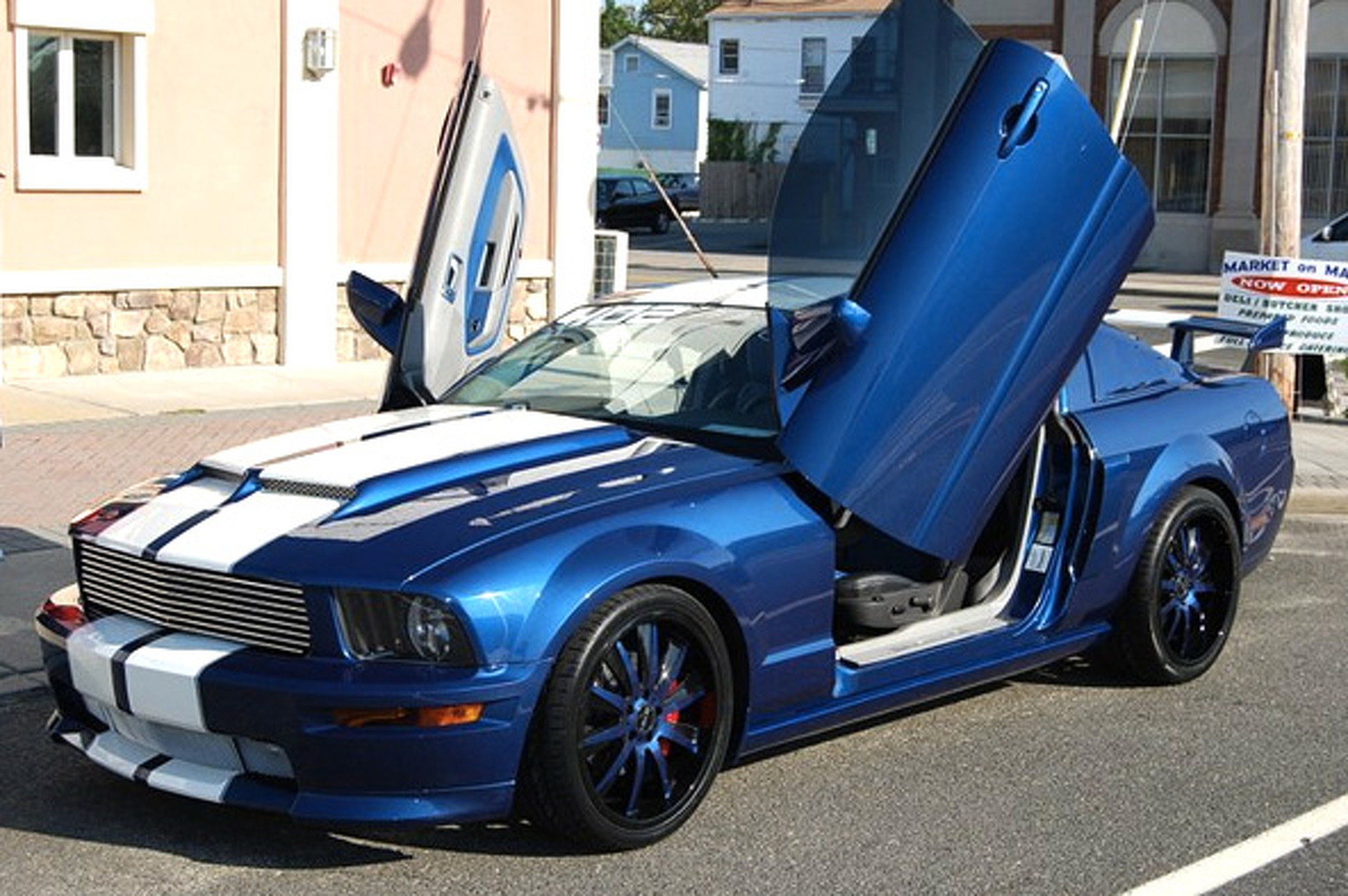 Ebay car of the week one of a kind custom ford mustang