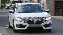 2017 Honda Civic Euro Spec spy photo