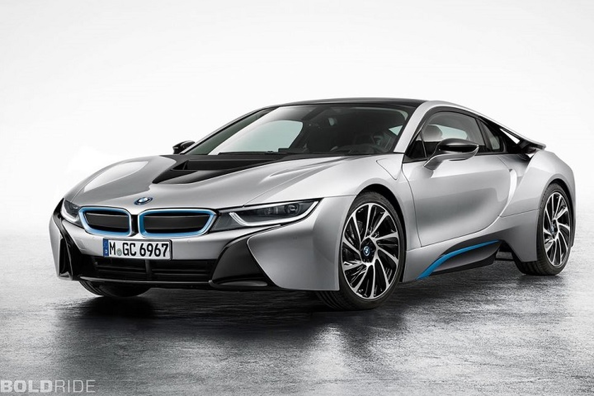 West Coast Customs Boss Drives a Beautiful Protonic Blue BMW i8