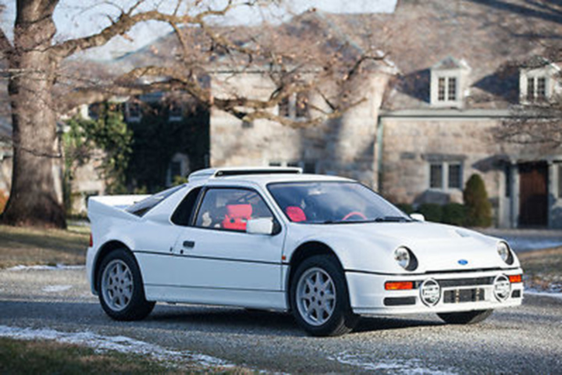 Unicorns exist a rare ford rs200 supercar is up for sale