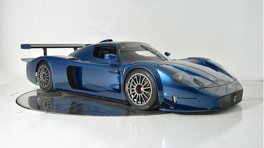 Rare and unused Maserati MC12 Versione Corse available for $3 million in Florida