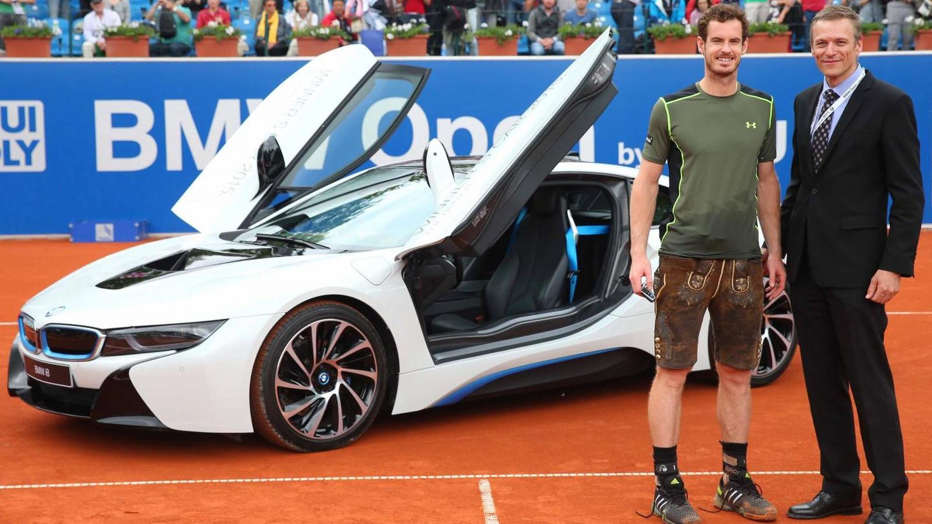 Bmw Of Murray >> Andy Murray Wins 2015 Bmw Open Earns Brand New Bmw I8
