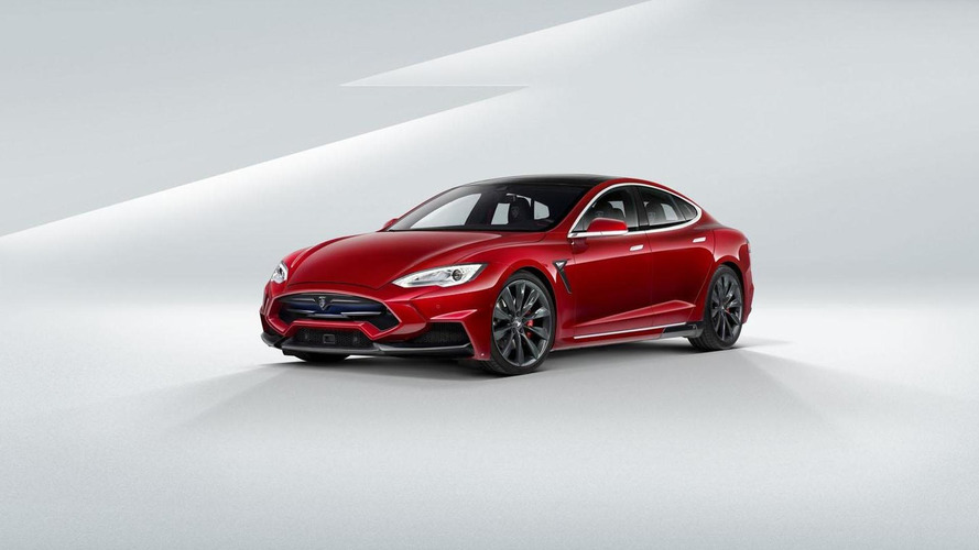 LARTE Design unveils their Tesla Model S at Top Marques Monaco