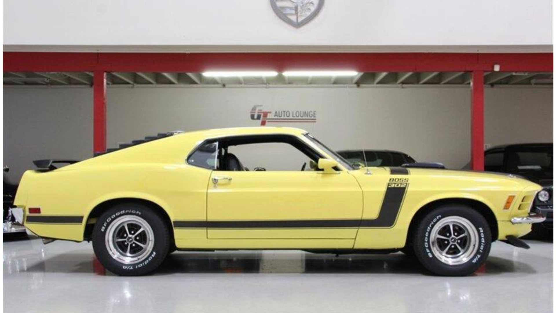 "[""Bid On This Beautiful 1970 Ford Mustang Boss 302""]"