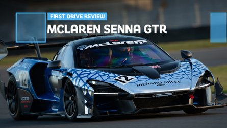McLaren Senna GTR first drive: Off the leash in the UK