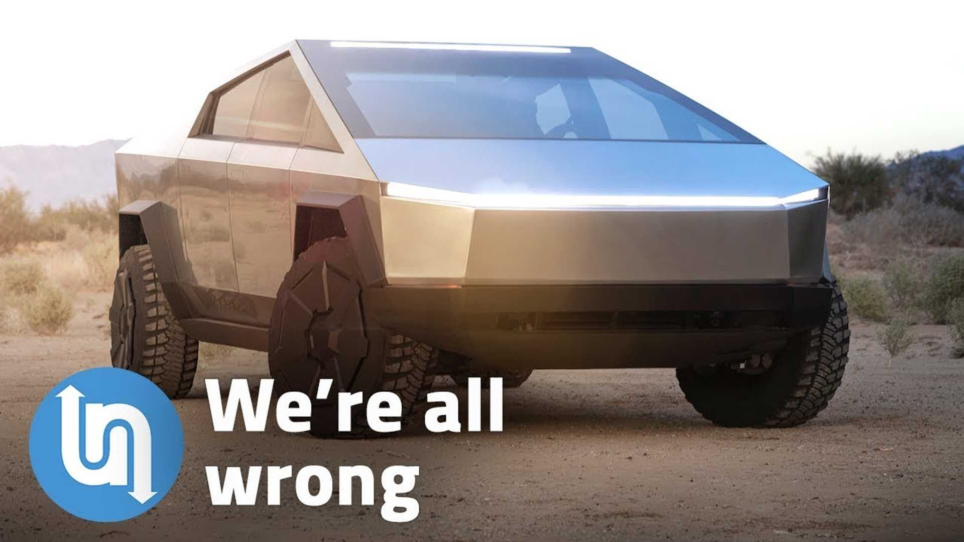 Apparently, We're All Wrong About Tesla Cybertruck Design