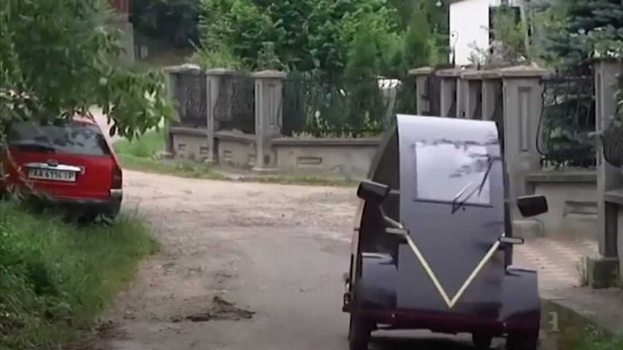 Украинский электрокар