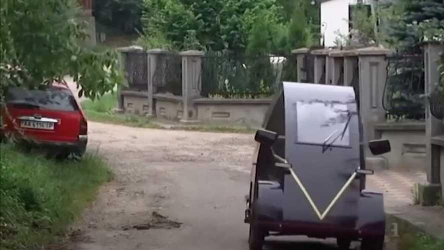 На Украине появился электромобиль за 99 000 рублей
