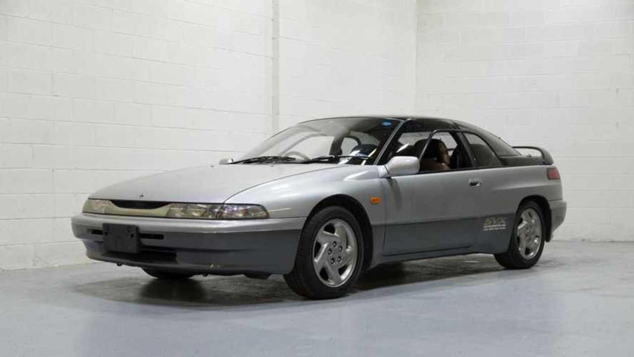 1994 Subaru Alcyone SVX Comes Straight From Japan