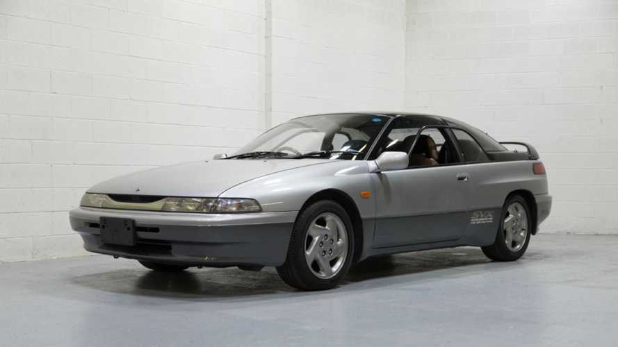 1994 Subaru Alcyone SVX Comes Straight From Japan