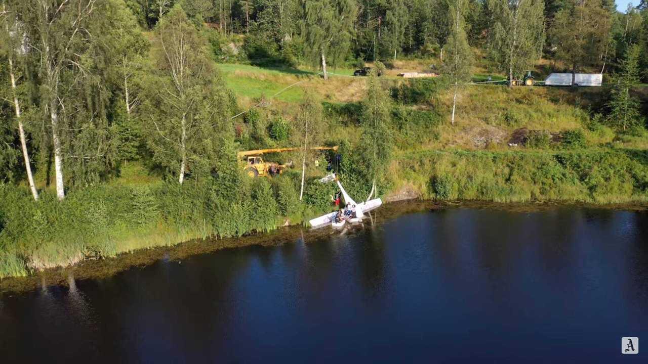 Pipistrel Alpha Electro G2 elektrikli uçak Norveç'te düşüyor