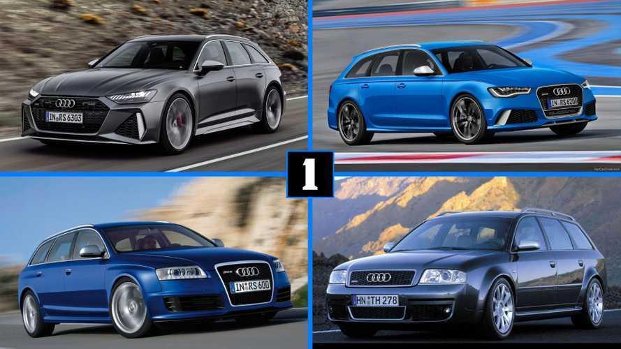 Galería de fotos: descubre las distintas generaciones del Audi RS 6