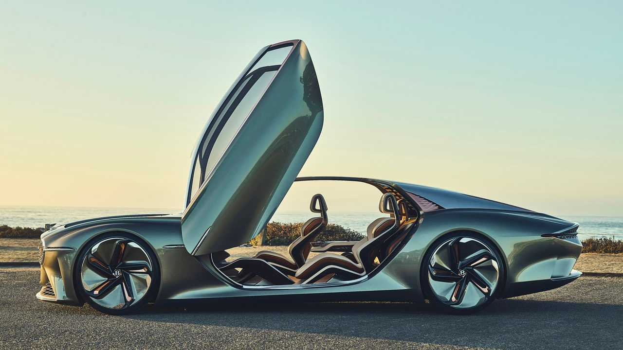 Bentley EXP 100 GT At Monterey