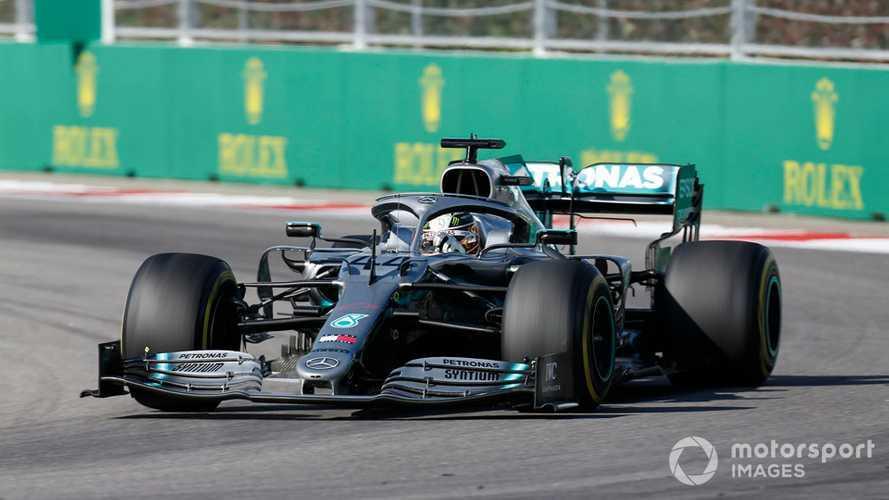 Hamilton was doing 'qualifying laps' to follow Ferraris