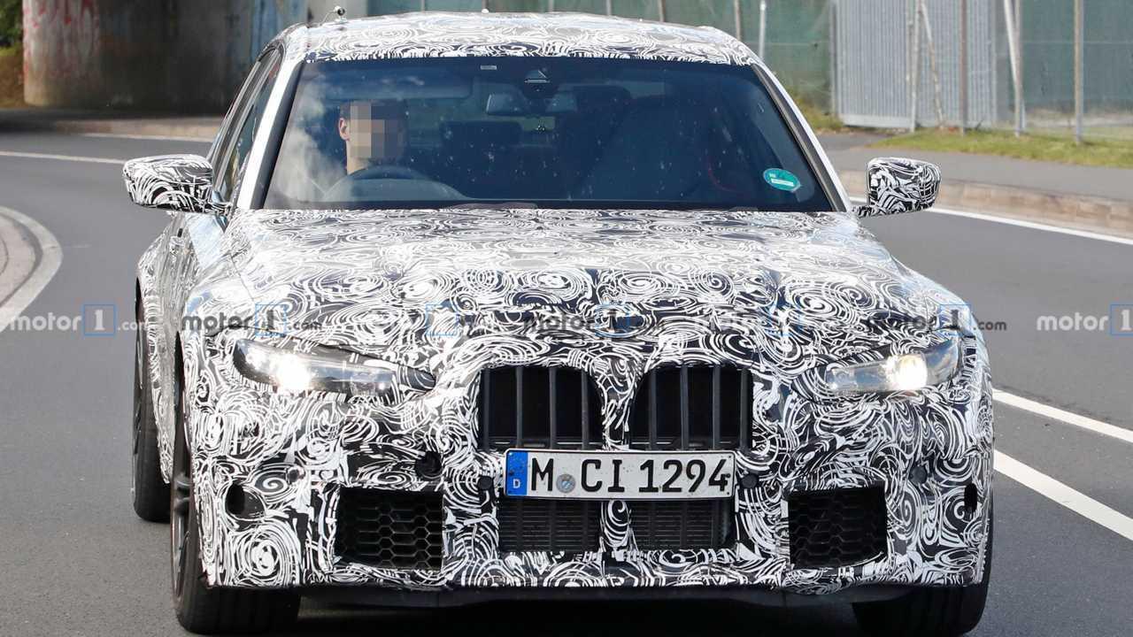 BMW M3 2021 - Flagra Nürburgring