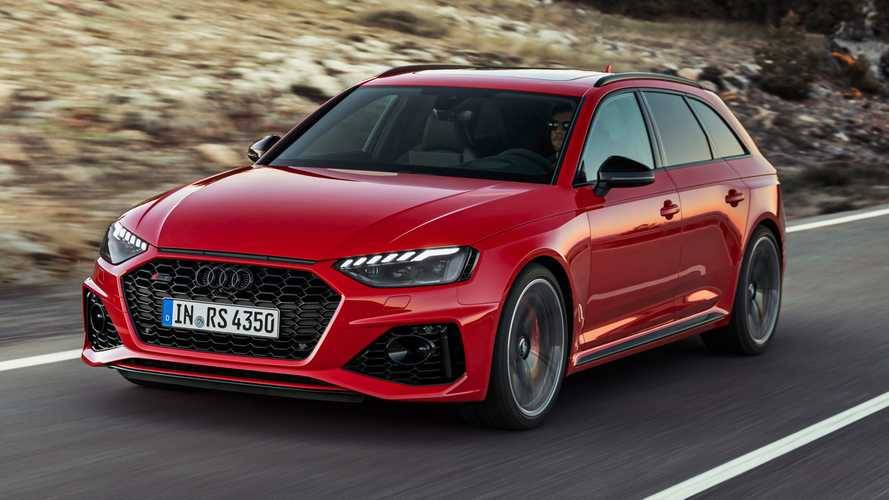 2020 Audi RS4 Avant facelift arrives with aggressive estate styling