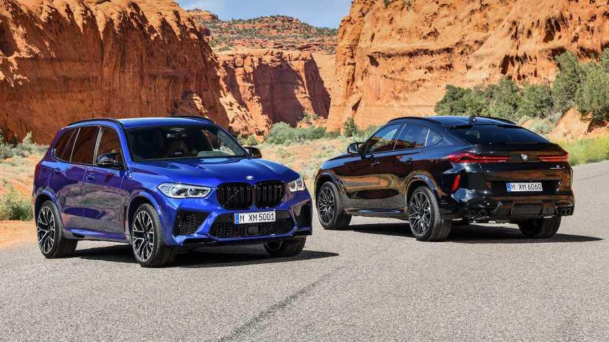BMW X6 M e X5 M, le Competition toccano i 617 CV
