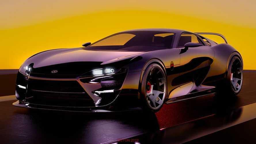 A Honda tervezője mutatta meg, milyen lehetett volna az új Toyota Supra