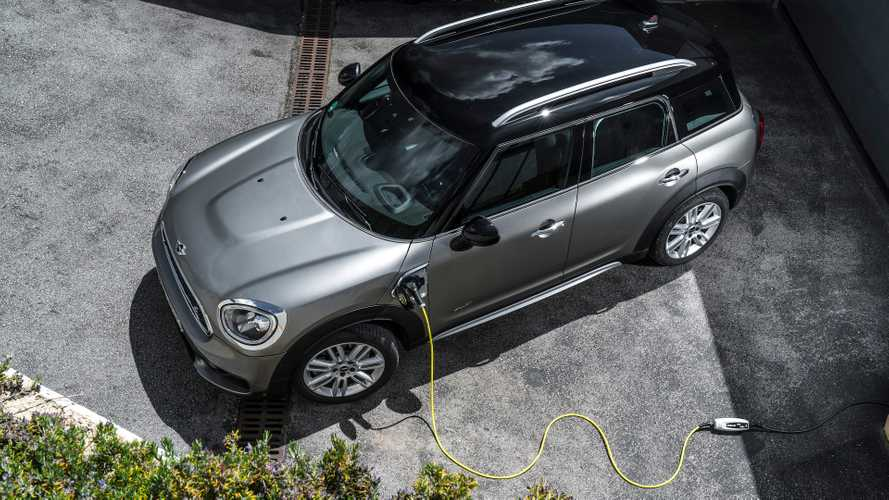 2019 MINI Cooper S E Countryman All4 Frankfurt yolcusu