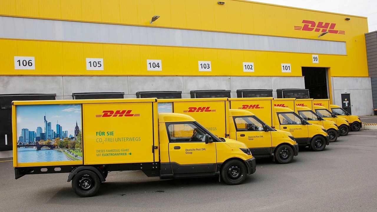 Deutsche Post DHL EV fleet