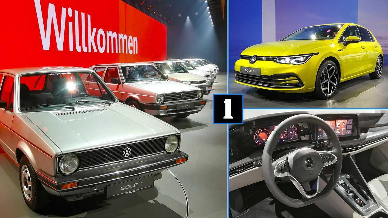 VW Golf 8 Live