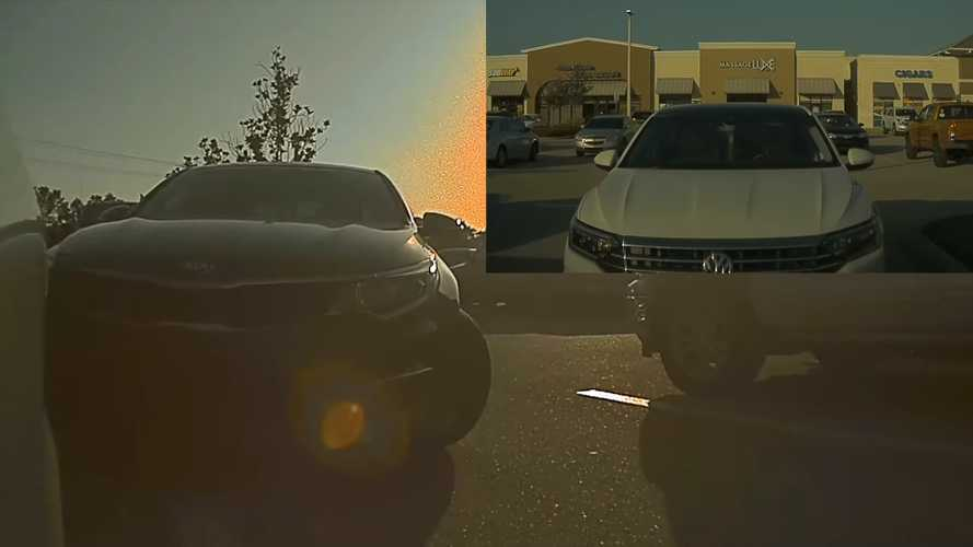 This Tesla Sentry Mode Video Tells A Whole Hit And Run Story