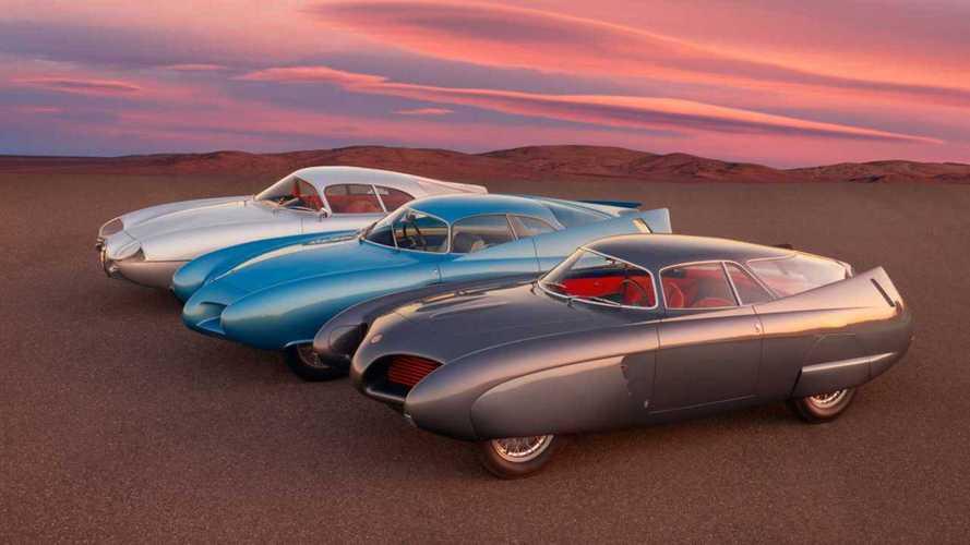 Alfa Romeo B.A.T. 5, 7 und 9: Bildschöne Studien von Bertone